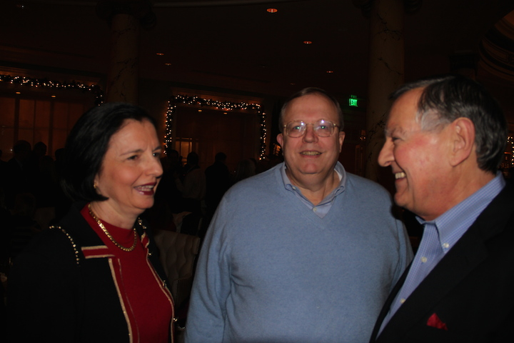 Maureen and Tom Birdzell with Ray Brown